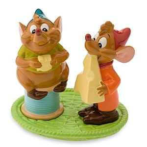 Gus and Jaq 3-piece salt and pepper set