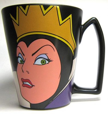 Evil Queen Disney Villains Coffee Mug From Our Mugs Amp Cups