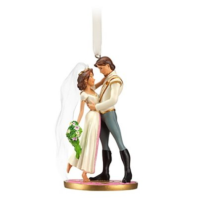 tangled wedding cake topper rapunzel and flynn rider wedding ornament 2012 from our 20753