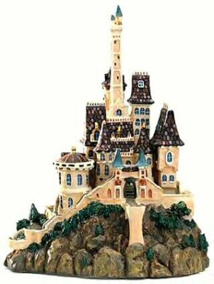 Beast S Castle Ornament Wdcc From Our Walt Disney Classics
