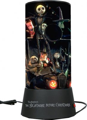Light Cylinder From Our Nightmare Before Christmas Lamps  - Nightmare Before Christmas Light