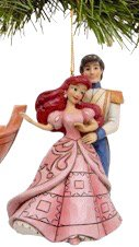 Ariel and Prince Eric ornament (2017) (Jim Shore Disney Traditions)