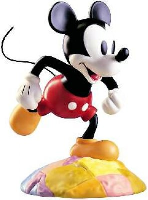 'At the top of the world' - Mickey Mouse figurine (WDCC)