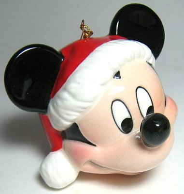 mickey mouse head ornament - Mickey Mouse Ornaments Christmas