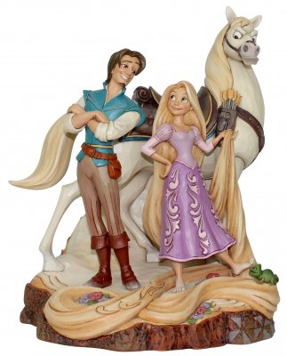 'Live Your Dream' - Tangled Rapunzel 'Carved by Heart' figurine (Jim Shore Disney Traditions)