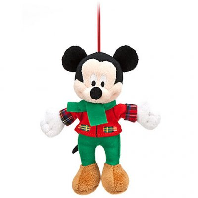 Mickey Mouse plush ornament