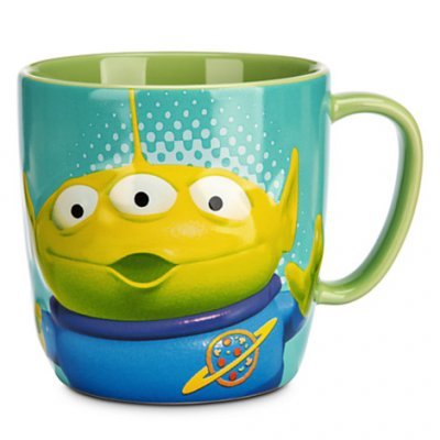 Toy Story Alien Coffee Mug The Claw Is Our Master From