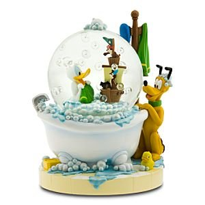 Donald Duck In Bathtub Musical Snowglobe From Our