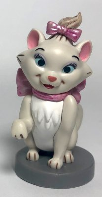 Marie PVC figurine, from Disney's 'The Aristocats'