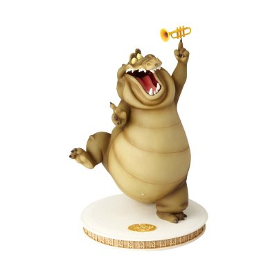 PRE-ORDER: Louis the alligator maquette (from 'The Princess and the Frog') (Walt Disney Archive Collection)
