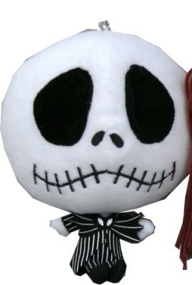 Jack Skellington Deformed Head Plush Small From Our