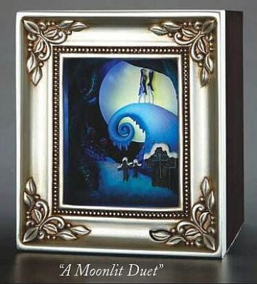 A Moonlit Duet Jack Skellington Sally Gallery Of Light Box From