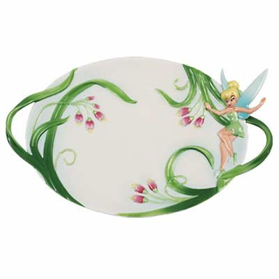 Tinker Bell Spring Meadow tea tray