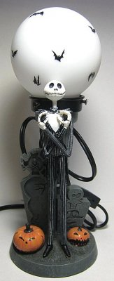 Jack Skellington Figural Lamp 2008 From Our Nightmare Before Christmas Lamps Collection