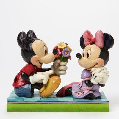'I Picked This Just For You' - Minnie and Mickey Mouse figurine (Jim Shore Disney Traditions)