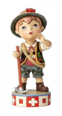 'Welcome to Switzerland' - Disney's 'It's a Small World' figurine (Jim Shore Disney Traditions)