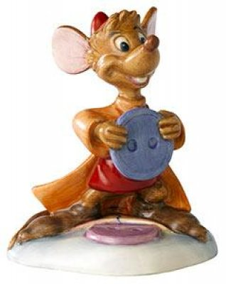 Jaq with button Disney figurine (Royal Doulton)