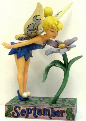 Tinker Bell September Sapphire Aster Figure From Our Jim
