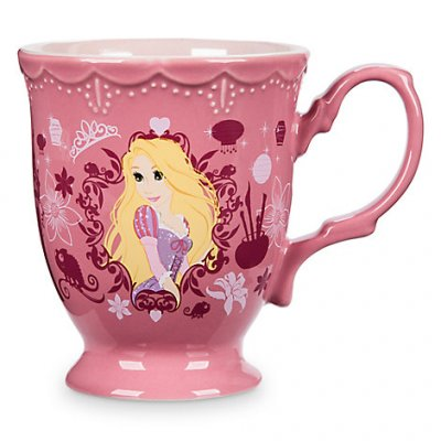 Rapunzel Flower Disney Princess Coffee Mug From Our Mugs