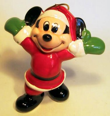 Mickey Mouse with arms out ornament