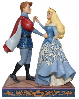 'Swept up in the Moment' - Sleeping Beauty and Prince Philip figurine (Jim Shore Disney Traditions)