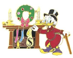 Scrooge Mcduck Christmas.Scrooge Mcduck Christmas Pin From Our Pins Collection