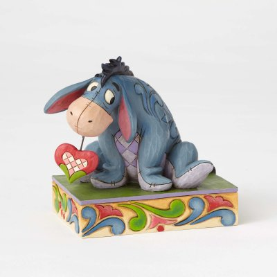 'Heart on a String' - Eeyore figurine (Jim Shore Disney Traditions)