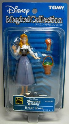 Sleeping Beauty as Briar Rose with squirrel & basket PVC ...