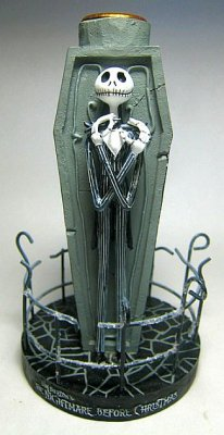 Jack Skellington Fence Candle Holder From Our Nightmare