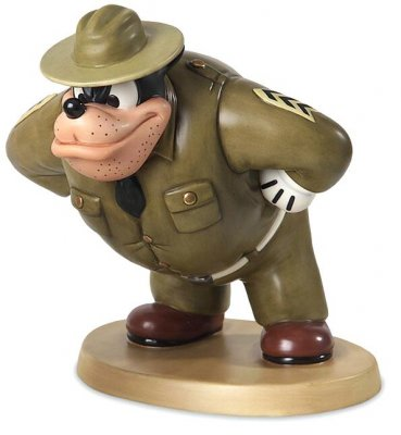 'Marching orders' - Pegleg Pete figurine (WDCC)