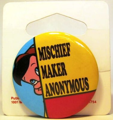 Mischief Maker Anonymous button