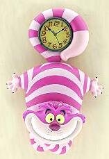 Soft Cat Food >> Cheshire Cat wall clock from our Clocks and Watches collection | Disney collectibles and ...