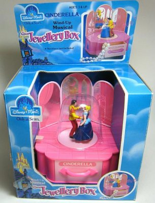 Cinderella Prince Charming windup musical jewelry box from our