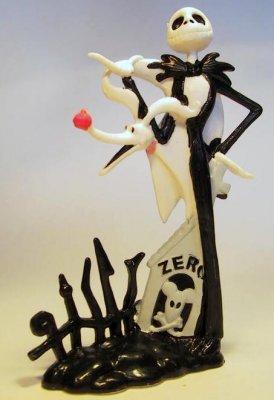 Fantasies Come True>PVCs > Jack Skellington & Zero PVC figureJack SkellingtonZero (Jack Skellington's dog)