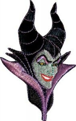 Maleficent head patch