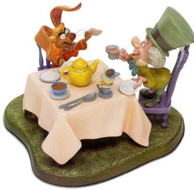 'A Very Merry Unbirthday' - Mad Hatter and March Hare figurine (WDCC)