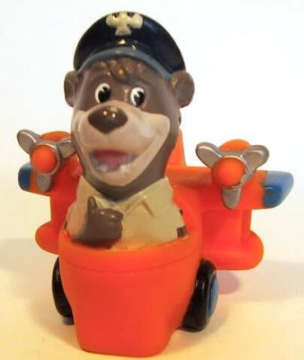 Baloo in airplane Under-3 fast food toy