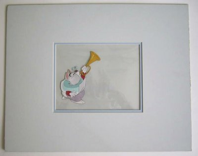 White Rabbit animation production cel