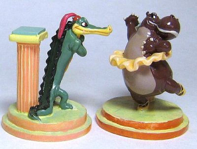ben ali gator amp hyacinth hippo miniature figure set tiny