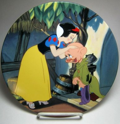 A Kiss For Dopey Decorative Plate From Our Plates Collection