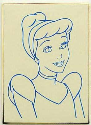 'How to draw Cinderella' Disney pin