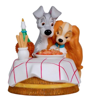 'You Make the Ordinary, Extraordinary' - Lady & Tramp figure