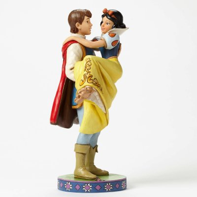 'Happily Ever After' - Prince holding Snow White figurine (Jim Shore Disney Traditions)
