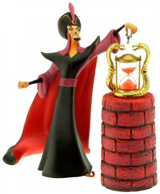 'Oh Mighty Evil One' - Jafar figurine (Walt Disney Classics Collection)
