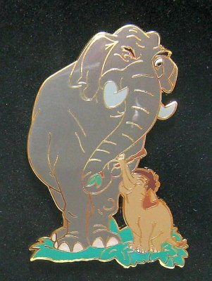 Colonel Hathi And Junior The Elephant Pin 2009 Pin Set