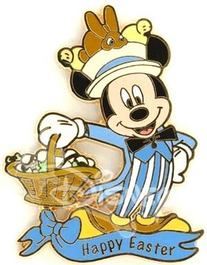 Mickey Mouse Happy Easter Disney Pin From Our Pins