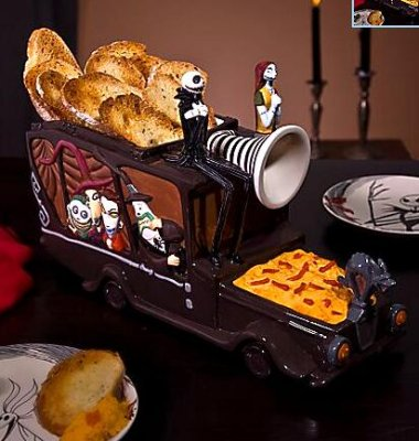 The Nightmare Before Christmas hearse snack dish