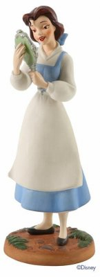 'He's Really Kind and Gentle. He's My Friend.' - Belle figurine (WDCC)
