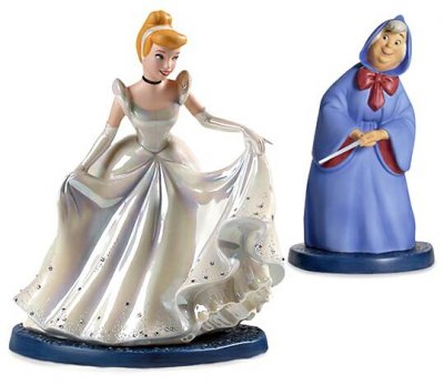 'A Magical Transformation' - Cinderella and Fairy Godmother Disney figurine (WDCC)