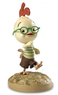 '2nd Chance Champ' - Chicken Little figurine (Walt Disney Classics Collection)